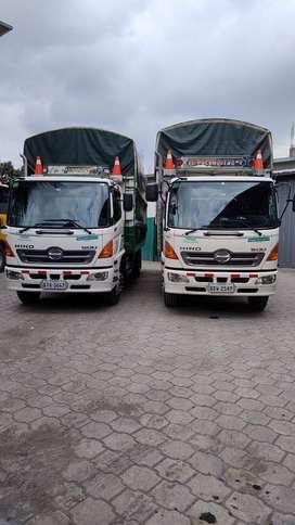 Vendo 2 camiones HINO GD