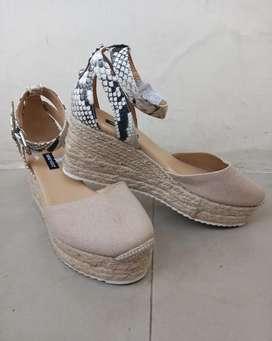 Zapatos americanos mujer