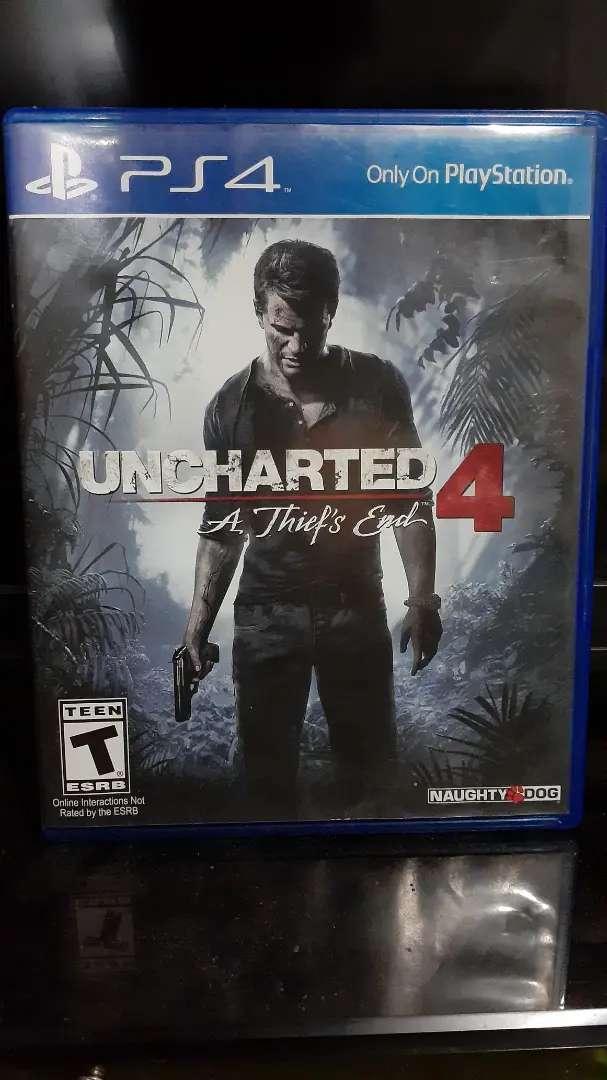Uncharted 4 para Ps4 0