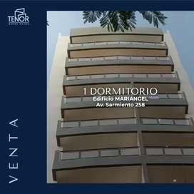 DEPARTAMENTO CÉNTRICO A ESTRENAR - AV SARMIENTO 258 - UN DORMITORIO CON COCHERA Y VISTAS AL FRENTE
