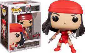 Funko Pop Elektra Marvel  Exclusiva Primera aparicion de los comics