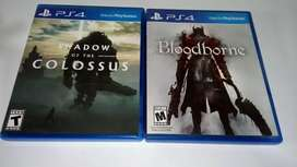 Bloodborne y shadow de ps4