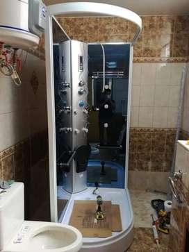 Instalacion cabina de ducha