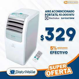 AIRE ACONDICIONADO PORTÁTIL 10000 BTU ELECTROLUX EAP10A3TBNW