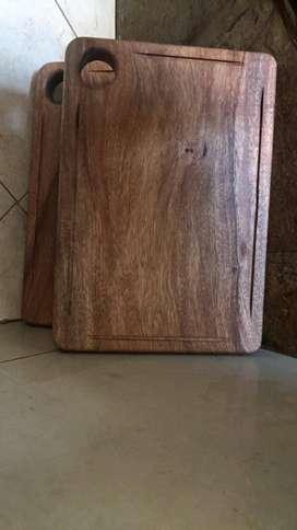 TABLAS DE ASADO Curada con cera de abeja 30 X 45