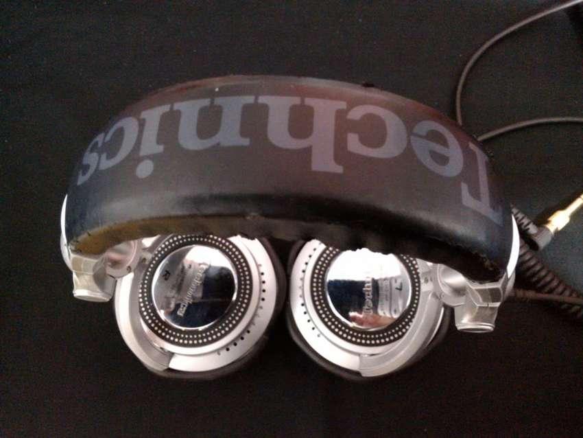 Audifonos Technics Rp Dh 1200 Usados Pioneer Stanton Numark Vestax 0