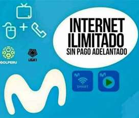 Planes de Internet totalmente ilimitado para q navegues sin para