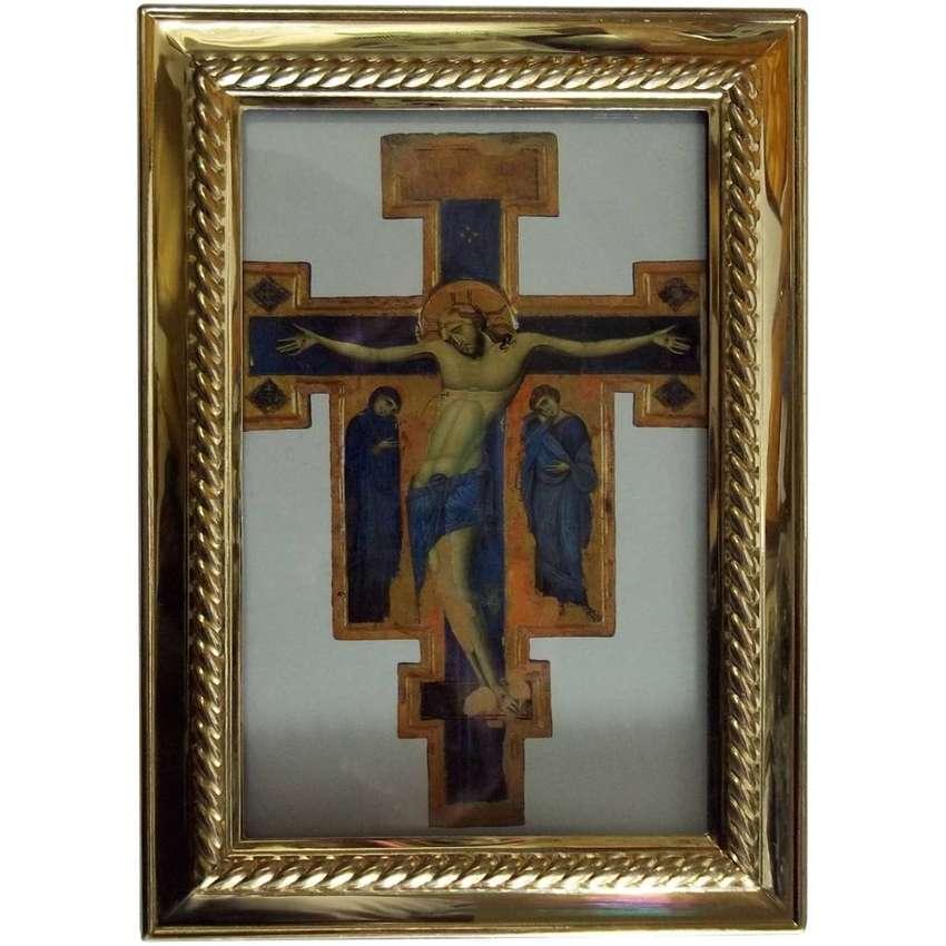 Cuadro de Jesus 13cm x 18cm