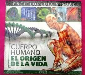 ENCICLOPEDIA VISUAL ED. VISOR CUERPO HUMANO EL ORIGEN DE LA VIDA