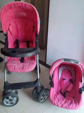 COCHE Y PORTABEBÉ INFANTI