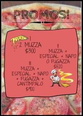 Pizza Lista Casera