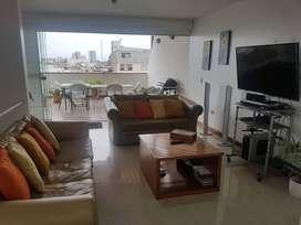 Vendo Departamento Duplex San Borja 4 dormitorios Remato por viaje