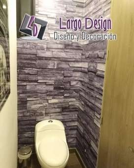 Papel tapiz baños