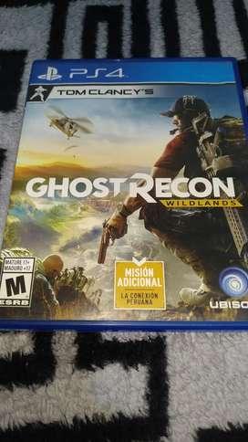 Ghost recon wildlands usado para ps4