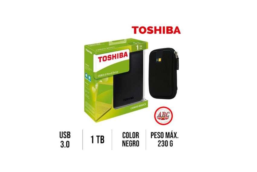 Disco Externo Toshiba Dd 1tb 2tb Usb 3.0 + Estuche  ! Promocion ! 0