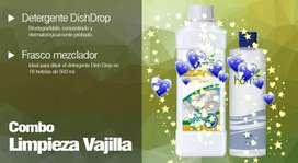 Detergente concentrado botánico natural