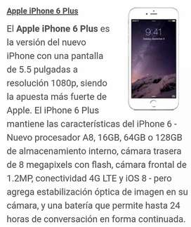Iphone 6s Plus. 64 gb Usado