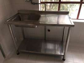 Lavaplatos acero inox