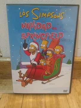 DVD los Simpsons navidad en Springfield original