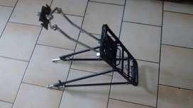 portaequipaje bicicleta reforzado aluminio