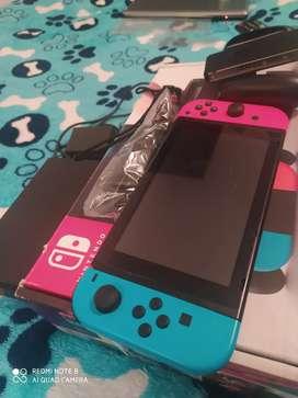 Nintendo Switch SD 128 GB juegos al gusto