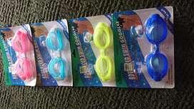 Gafas antiparra para natacion con tapones de oidos y nariz
