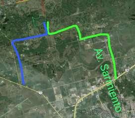 Campo en resistencia 40 hectareas. Aceptamos permutas por parte de pago y financiamos