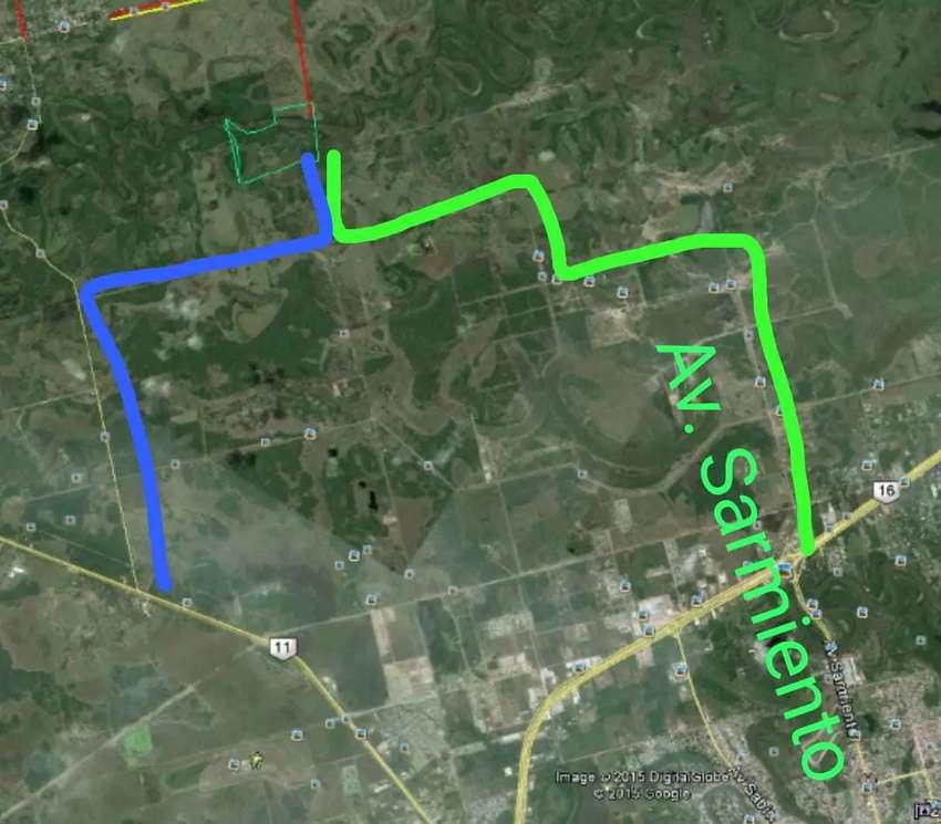 Campo en resistencia 40 hectareas. Aceptamos permutas por parte de pago y financiamos 0