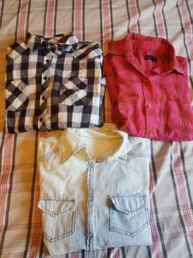 Camisas mujer 3 unidades