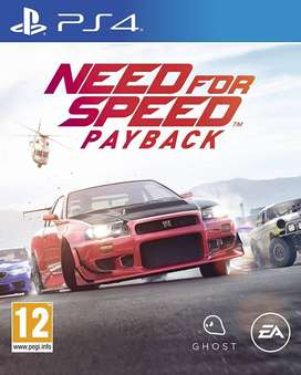 Need For Speed Payback Playstation 4 Ps4, Físico