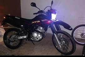 Hermosa xtz 250 como nueva