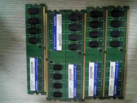Memorias ram y procesadores