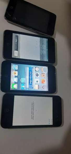 Ipods y iphone 4s