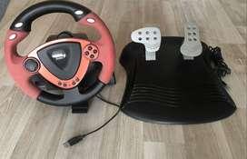 Volante y pedales Genius Twinwheel FF