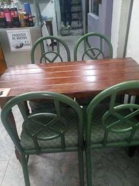 Juegos de mesa con 4 sillas