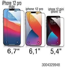 Vidrio templado iphone 12 12 pro max