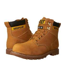Botas CATERPILLAR Second Shift. Steel Toe. HONEY. Sku.05.107 BUSCANDOBIEN