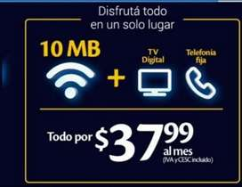 Cable + internet Tigo