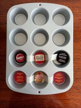 Molde bandeja x12 para muffins