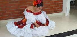 Se vende hermoso traje de sanjuanero talla s