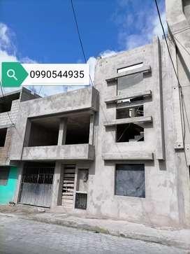Casa nueva en construcción, planos aprobados, en el sur de Quito