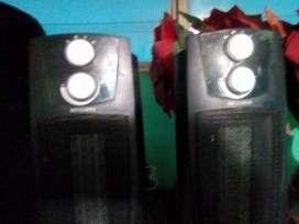 ganga vendo estos ventiladores calefactores buen estado usados 8 de 10