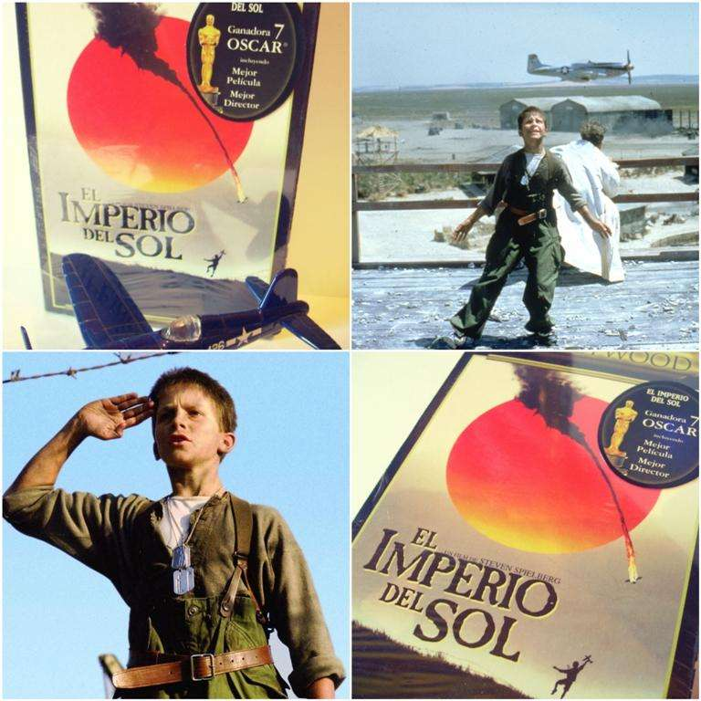 VHS El Imperio del Sol Pelicula de Steven Spielberg de Colección. 0