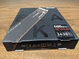 WD_Black SN750 NVMe - Unidad de estado sólido interna  (500 GB, PCIe, M.2 2280, hasta 3430 MB/s)