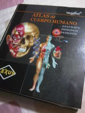 Vendo Libro de ATLAS DEL CUERPO HUMANO: