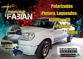 Polarizado alarmas audio