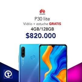 Huawei p30 lite 128gb, TIENDA FISICA, VIDRIO y ESTUCHE GRATIS nuevos.