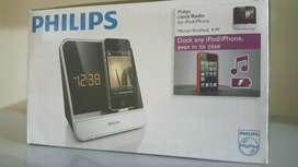PHILIPS Radio/Reloj para iPod/iPhone NUEVO
