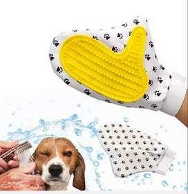 Lindo cepillo peinar guante gato y perro
