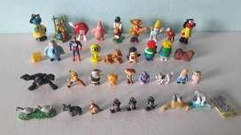 Art 173 Lote de 35 Juguetes Varios Oferta Animales Elmo Robots Dinosaurios